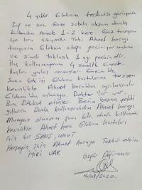 Ahmet hoca glokom hastaları için bir şans.